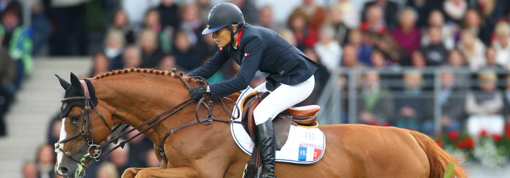 Photo Eugénie Angot cavalière Horsefeed